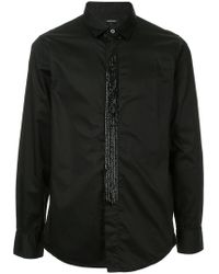 Loveless - Long-sleeve Fitted Shirt - Lyst