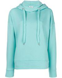 Closed - Rear-logo Hooded Sweatshirt - Lyst