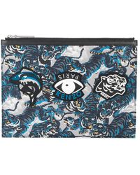 KENZO - Flying A4 Tiger Pouch - Lyst