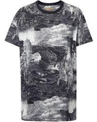 Burberry - T-Shirt mit Traum-Print - Lyst
