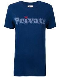Zoe Karssen - Private Print T-shirt - Lyst