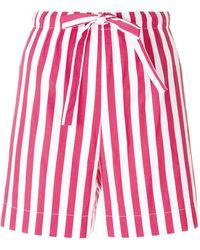 Aspesi - Striped Bermuda Shorts - Lyst