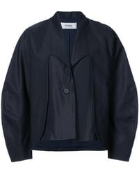 Chalayan - Double Layer Curved Sleeve Jacket - Lyst