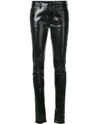 Rick Owens Drkshdw - Vinyl Look Skinny Trousers - Lyst