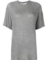 IRO - Longline T-shirt - Lyst