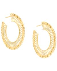 Wouters & Hendrix - My Favourite Filigree Hoop Earrings - Lyst