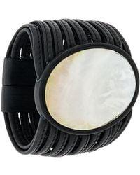 Monies - Large Round Pendant Bracelet - Lyst