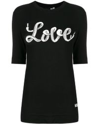 Love Moschino - Love T-shirt - Lyst