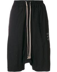 Rick Owens Drkshdw - Drawstring Shorts - Lyst