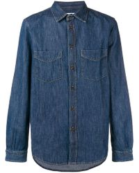 Kent & Curwen - Knole Denim Shirt - Lyst