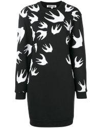 McQ - Sparrow Knit Jumper Dress - Lyst