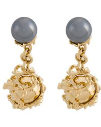 Kasun - Orb And Pearl Cufflinks - Lyst