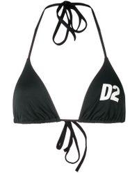DSquared² - D2 Printed Bikini - Lyst