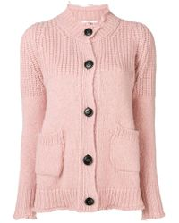 Dondup - Knitted Button Cardigan - Lyst