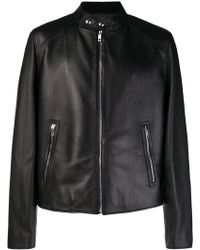 Bally - Micro Perforated Jacket - Lyst