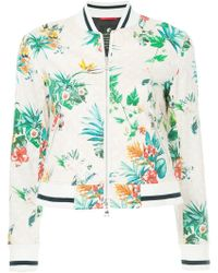 Loveless - Tropical-print Bomber Jacket - Lyst
