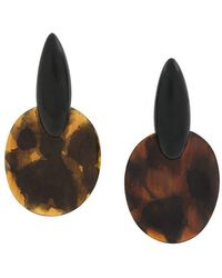 Monies - Large Drop Earrings - Lyst