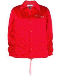 Facetasm - Creased Shirt Jacket - Lyst