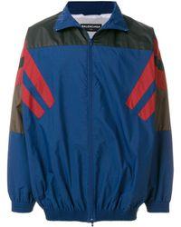 Balenciaga - Bal Tracksuit Jacket - Lyst