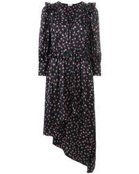 Magda Butrym - Floral Print Asymmetric Dress - Lyst