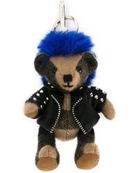 Burberry - Punk Thomas Bear Charm - Lyst