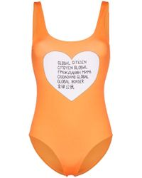Ganni - Global Citizen Swimsuit - Lyst
