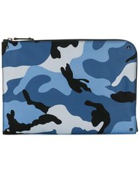 Valentino - Bolso de mano con diseño militar - Lyst