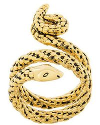 Aurelie Bidermann - Wrap-around Snake Ring - Lyst