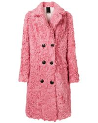 Numerootto   Double Breasted Coat   Lyst