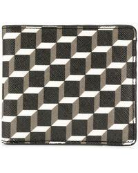 Pierre Hardy - Small Geometric Print Wallet - Lyst