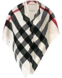 Burberry - Check Bandana - Lyst