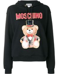 Moschino Teddy Circus Sweatshirt - Black
