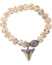 Loree Rodkin - Shark Tooth Charm Bracelet - Lyst