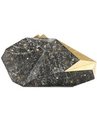 Nathalie Trad - Faceted Clutch Bag - Lyst