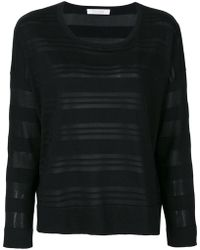 Cruciani - Long Sleeved Stripe Top - Lyst