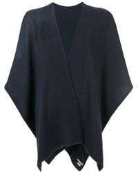 Hemisphere - Cashmere Knitted Cape - Lyst