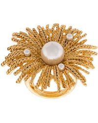 Oscar de la Renta - Pearl Burst Ring - Lyst