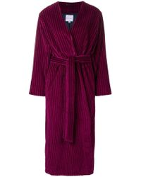 Mira Mikati - Fringed Detail Long Kimono - Lyst