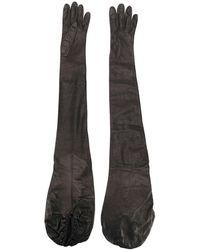 DSquared² Elbow Gloves - Black