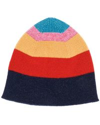 c11eecd147d PS by Paul Smith - Striped Beanie Hat - Lyst