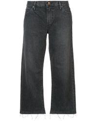 Simon Miller - Cropped Boyfriend Jeans - Lyst
