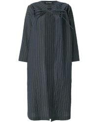 Ter Et Bantine - Pinstripe Oversized Coat - Lyst