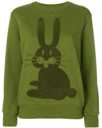Peter Jensen - Rabbit Embroidered Sweatshirt - Lyst