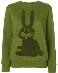 Peter Jensen   Rabbit Embroidered Sweatshirt   Lyst