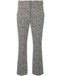 Dorothee Schumacher - Printed Cropped Trousers - Lyst