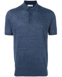 Brunello Cucinelli - Short Sleeved Polo Shirt - Lyst