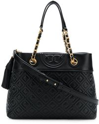Tory Burch - Fleming Small Tote Bag - Lyst