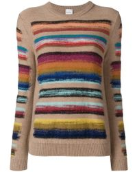 Paul Smith Black Label - Rainbow Knitted Jumper - Lyst
