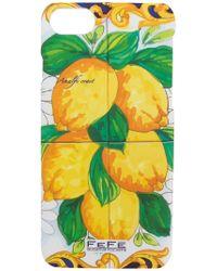 Fefe - Lemons Print Iphone 7 Case - Lyst