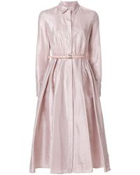Max Mara - Fiorire Shirt Dress - Lyst